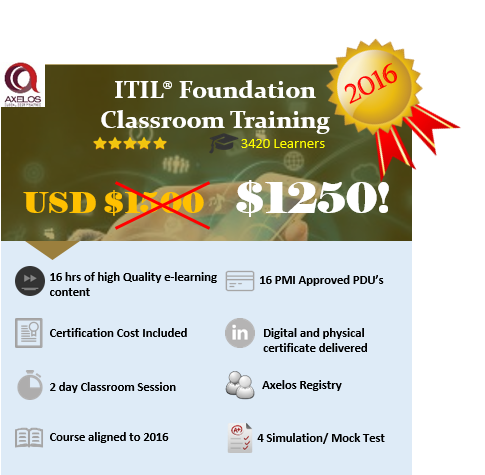 ITIL Foundation Classroom Training in New York, NY