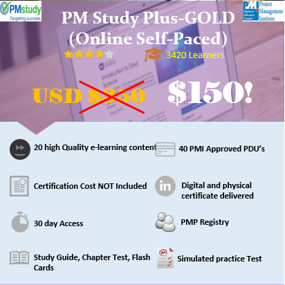 PMP STUDY PM GOLD (Online Self Paced)