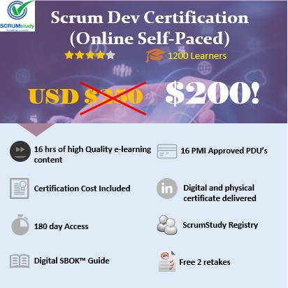 Scrum Developer Certified – SDC™ (Online Self Paced)