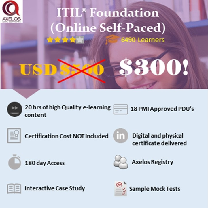Itil Foundation Exin Icertify Training