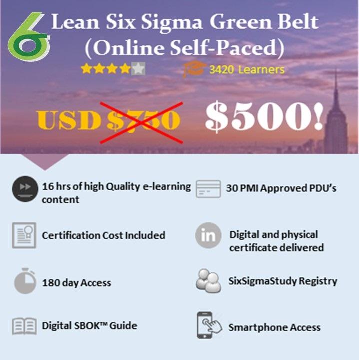 Lean Six Sigma Green Belt Icertify Training