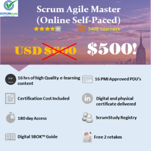 Scrum Agile Master Certification